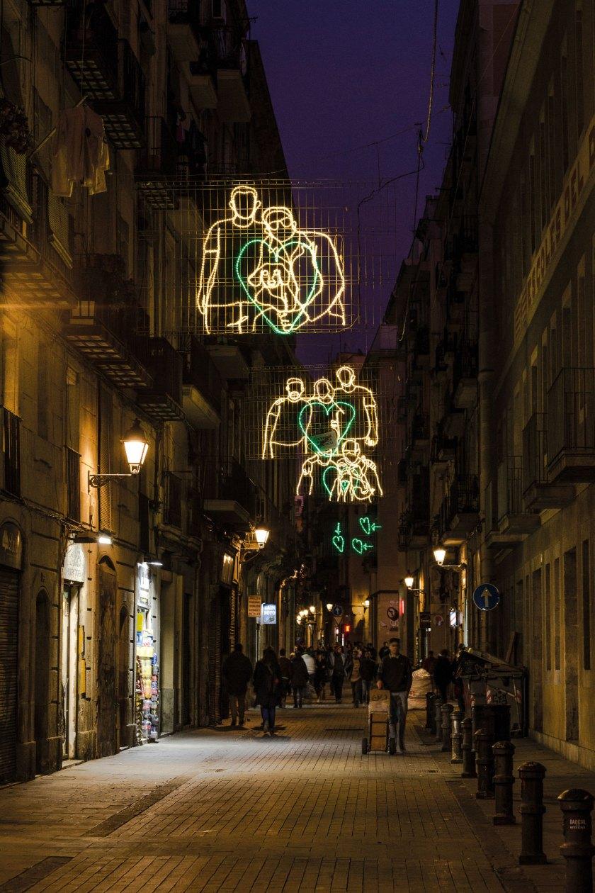 Premio ADI Cultura de Opinión Proyecto: Llums de nadal Raval Km0 Responsables: Curro Claret, Maria Güell. Impulsen SCCL, Fundació Tot Raval