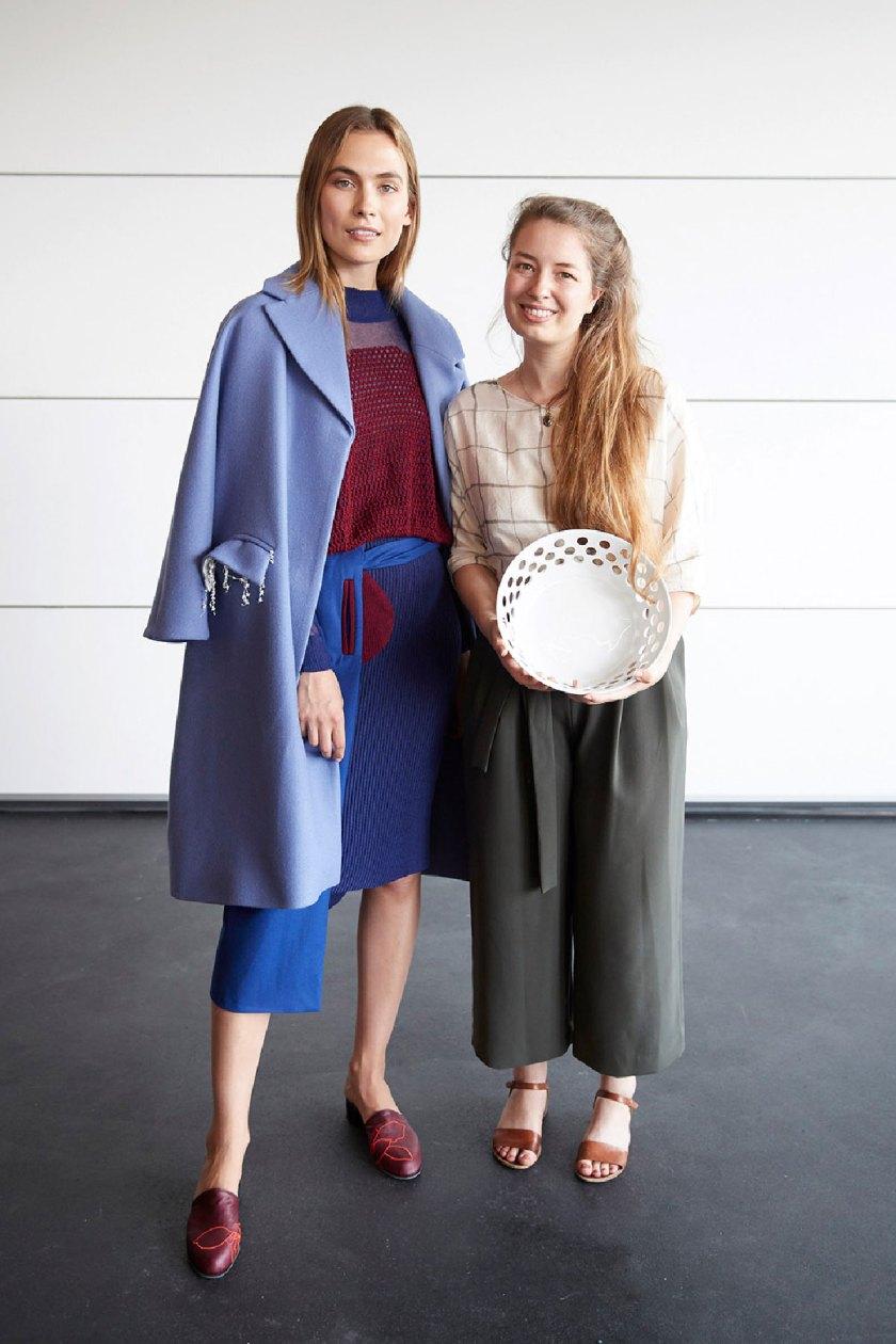 1er premio estudiantes: Annika Klaas. European Fashion Award FASH 2018. Foto: © Bernhard Ludewig / SDBI