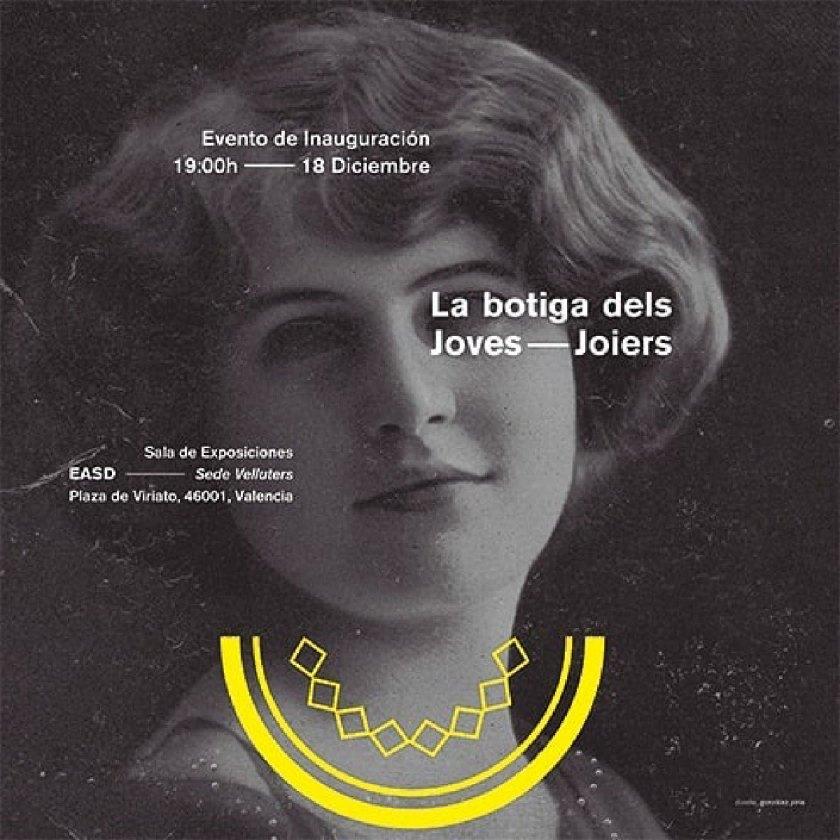 La Botiga dels Joves Joiers en la EASD de València. Diseño: Gonzalez Piris.