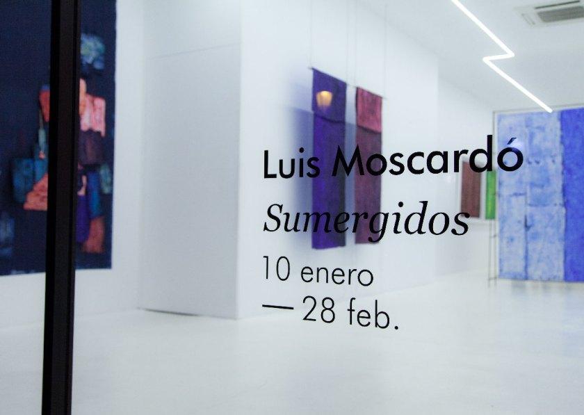 Luis Moscardó / Sumergidos. Un proyecto en cinco actos. Galería Punto