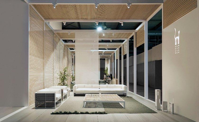 Título: Stand Gandia Blasco Salone del Mobile — Milán 2018 Cliente: Gandia Blasco Diseño: Made Studio Estudio: Made Studio Fotografía: Ángel Segura Foto