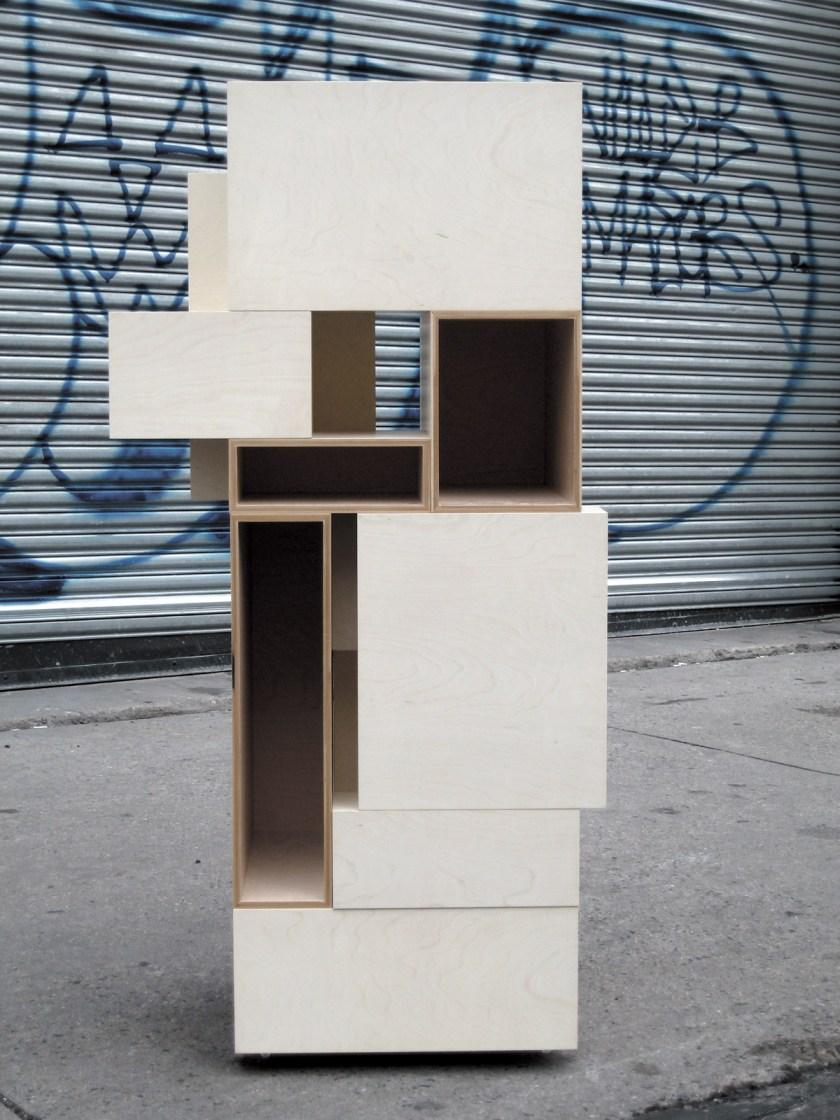 14+1 shelving system © Takeshi Miyakawa