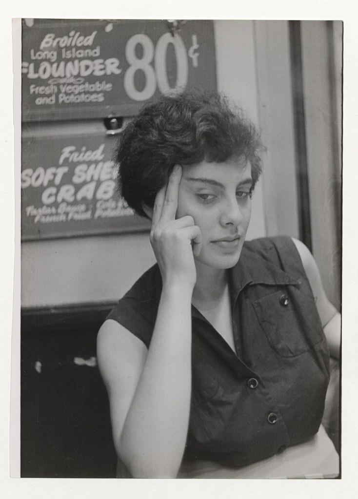 Umbo_Frauenporträt_1952_Berlinische-Galerie