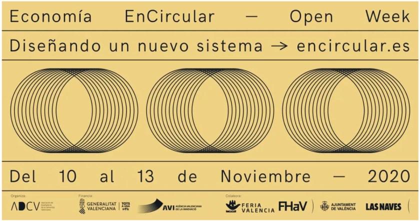 """Jornadas """"Economía EnCircular Open Week"""" Cortesía ADCV"""