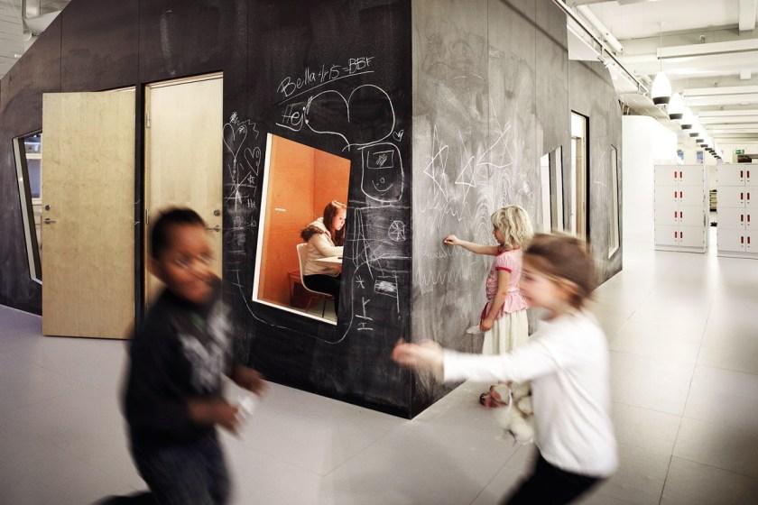 Escuela Vittra Telefonplan de Rosan Bosch