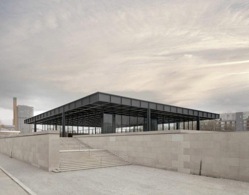 La Nueva Galería Nacional después de la renovación © Simon Menges