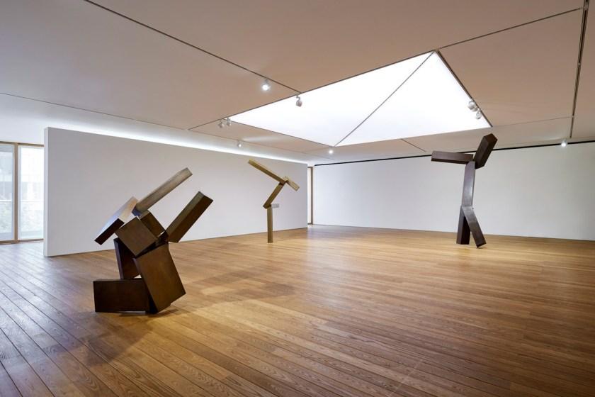 Vista de la muestra. Joel Shapiro, Pace Gallery - Seúl