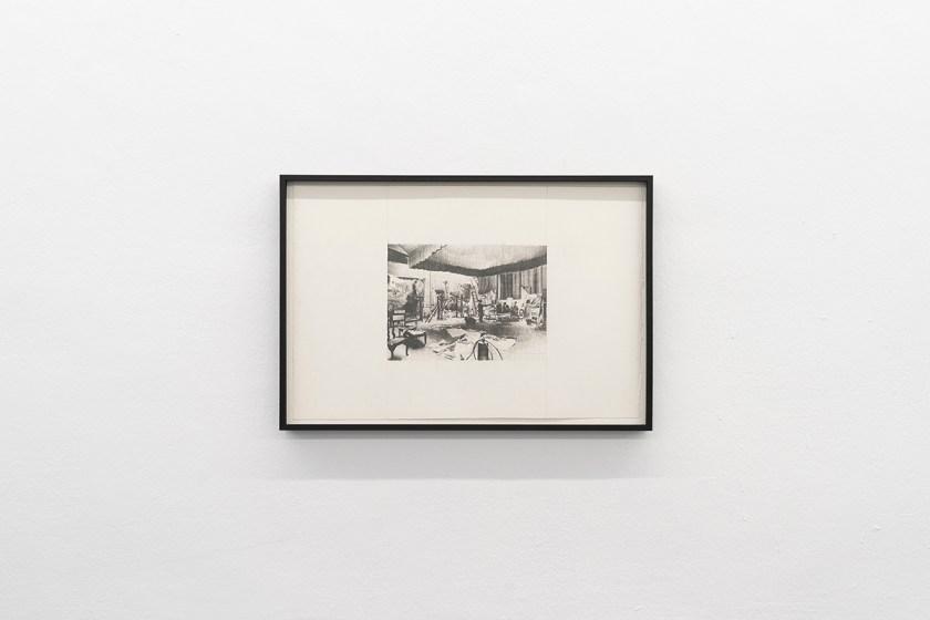 """Vista de la muestra """"Mapa de Traslado"""" de Alex Gambín. Tuesday to friday Gallery"""