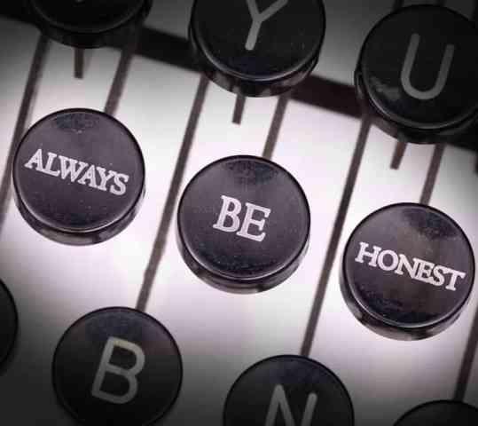 對創意人來說,最重要的是「誠實」