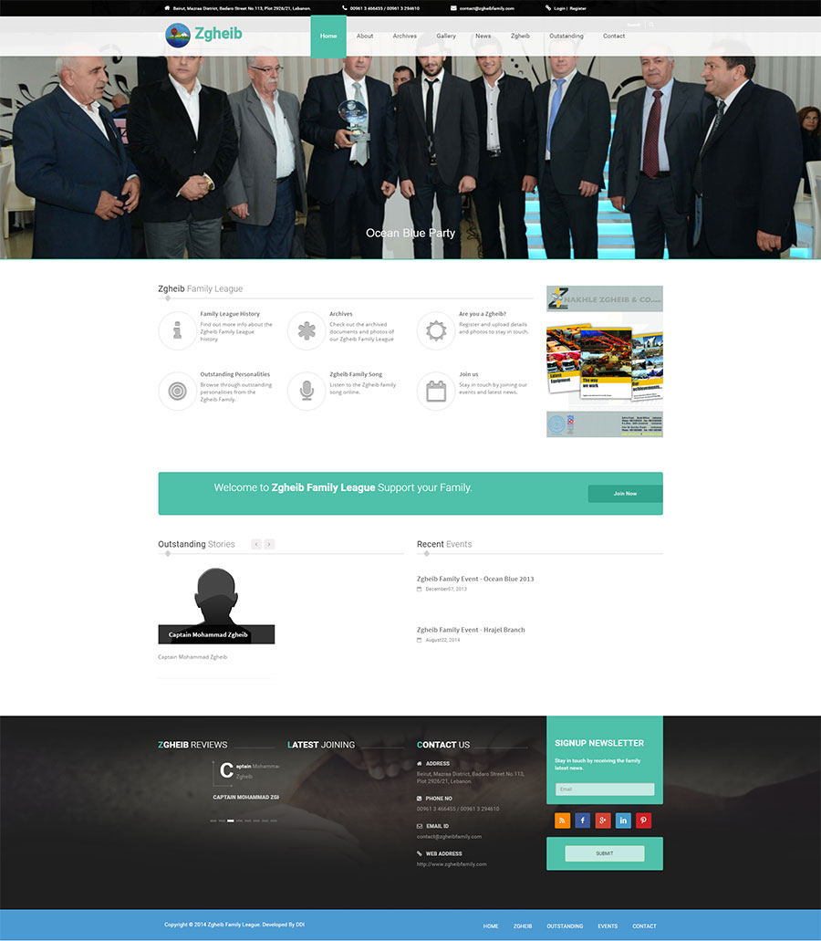 Zgheib family website by ddi, mobile app development company Lebanon, mobile apps android & ios, website development company Lebanon, web design company in Lebanon, software development in lebanon,best web and mobile agency in lebanon,ecommerce in lebanon, ecomemrce website development in lebanon,ecommerce mobile apps in lebanon, emarketing in lebanon, social media in Lebanon, social media agency in lebanon, web agency in Lebanon