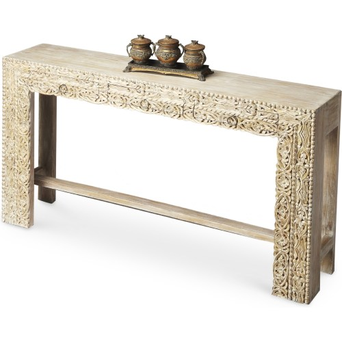 Medium Of Wood Console Table