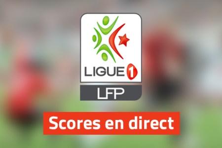 ligue 1 score en direct