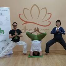 II Sesion Yoga Solidario