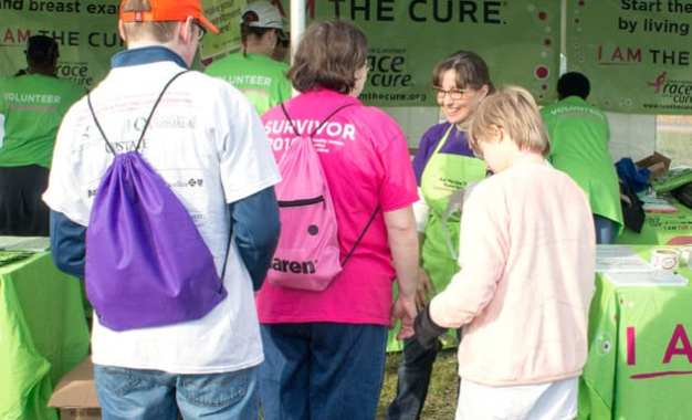 Volunteer of the Month September 2016 – Mary LaRussa Susan G. Komen Race for the Cure