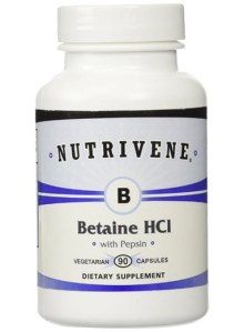 Nutrivene Betaine HCL with Pepsin
