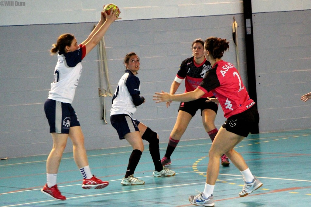 Séniors filles B contre Longpré (9)