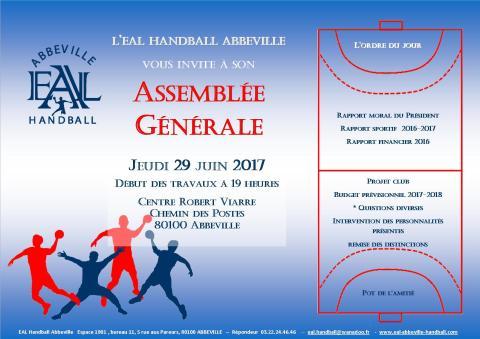 Invitation licencié- Assemblée Générale EAL_29 juin 2017pub