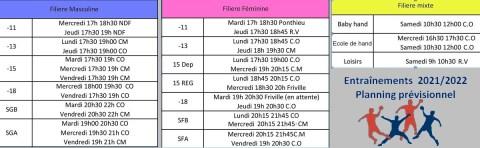 Creneau-2021-2022 Lettre d'infos