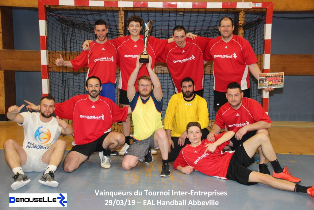 Tournoi Interentreprises 2019 - Champions