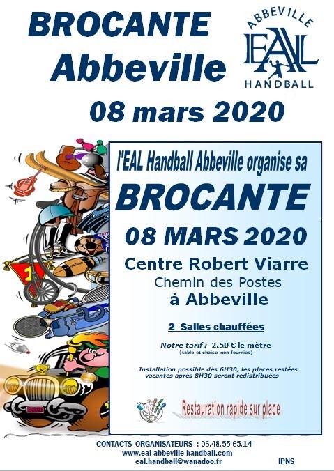 affiche Brocante 2020