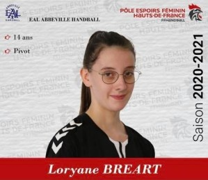 Breart Loryane _Pole Espoir 2020-2021