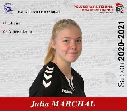 Julia Marchal_Pole Espoir 2020-2021