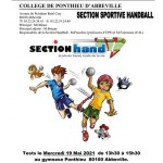 section sportive eal college ponthieu abbeville