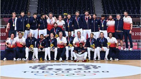 Equipe de France masculine- JO OR