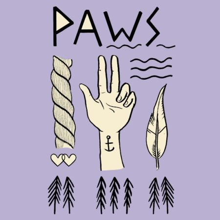 PAWS Tiger Lily Demo Tape - US Tour EP