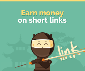 Make Money by shorting and sharing links