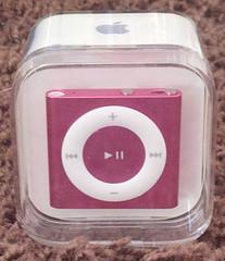 pink ipod shuffle