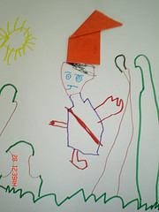drawing made by a child