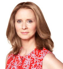 headshot of Cynthia Nixon