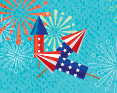 thumbnail for 4th of July infographic