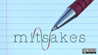 the word mistake misspelled on notebook paper