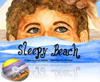 cover of Scott Harpole's book Sleepy Beach