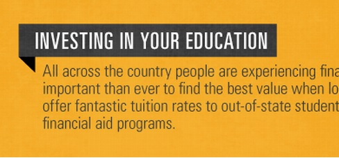 investing in education infographic