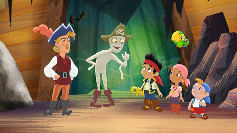 characters from Jake and the Never Land Pirates show