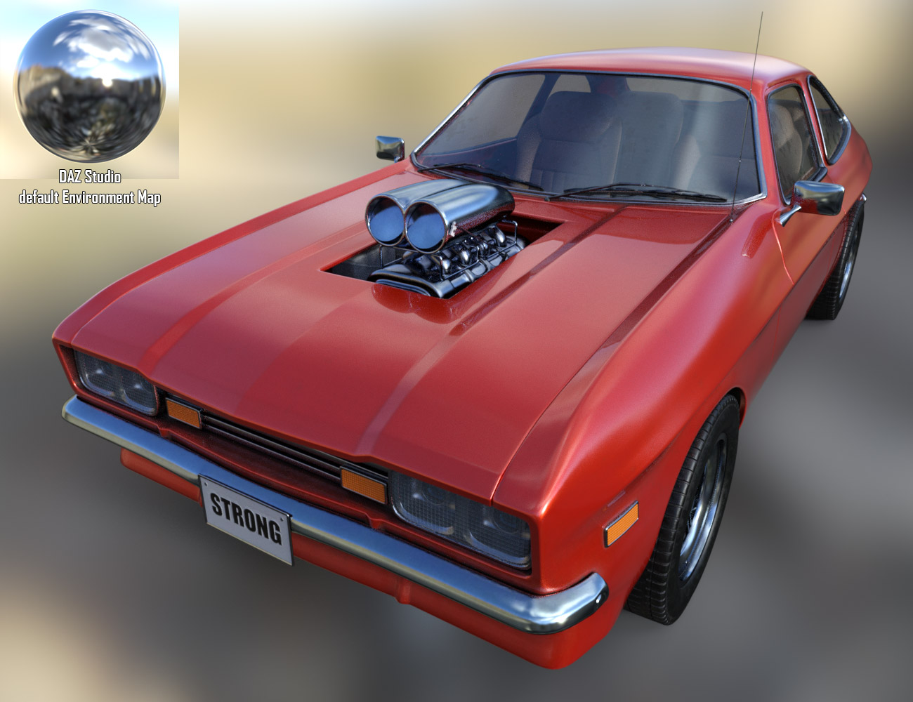 Wip muscle car new car paint eart3d for New paint car