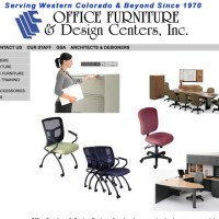 Office Furniture & Design Centers, Inc. has been serving business, commercial and healthcare clients in Western Colorado since 1970.  Their website illustrates the depth and breadth of their product lines, services, and customers. Customer maintained with Adobe Contribute.www.designcenters.biz