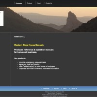 Website designed, built and maintained by the client/owner. westernslopehousemanuals.com