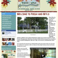 Fresh & Wyld - freshandwyld.com - a wordpress site with integrated shopping cart. Client posts regular updates, site integrates multiple blogs. freshandwyld.com