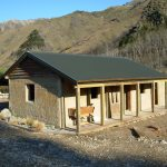 Cob quarters - restoration in the Waihopai valley