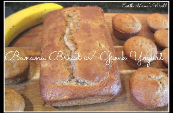 Banana Bread with Greek Yogurt