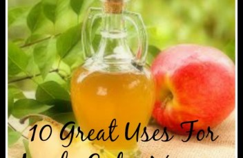 10 uses for apple cider vinegar