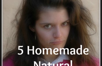 5 Homemade Natural Frizzy Hair Treatments