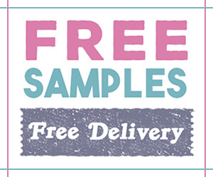 get free samples with free delivery