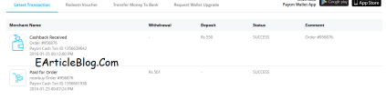 Paytm-Trick-Earticleblog-Proof