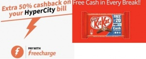 Hyper-City-Kit-Kat-Loot-Get-Kit-Kat-Pack-worth-Rs-400-Absolutely-Free-Extra-Rs-200-Freecharge-Credit-earticleblog
