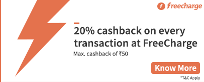 freecharge offer may 16